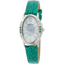 【送料無料】pierre cardin(ピエールカルダン) 腕時計 ソーラー 天然石 6P PC-794 エメラルド(グリーン)
