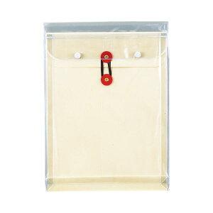 【送料無料】(まとめ) ピース マチヒモ付ビニール保存袋 レザック 角2 184g/m2 白 業務用パック 911-30 1パック(3枚) 【×10セット】