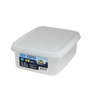 【送料無料】(まとめ) 保存容器/ジャンボケース 【S】 抗菌効果 キッチン用品 『キーパー』 【×40個セット】