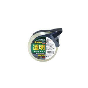 【送料無料】(まとめ) スリーエムジャパン 透明梱包用テープ 315シリーズ 重量物梱包用 カッター付 【×10セット】