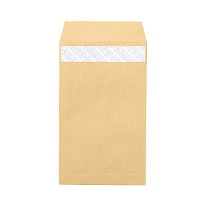 【送料無料】(まとめ) ピース R40再生紙クラフト封筒 テープのり付 角8 85g/m2 業務用パック 610 1箱(1000枚) 【×5セット】