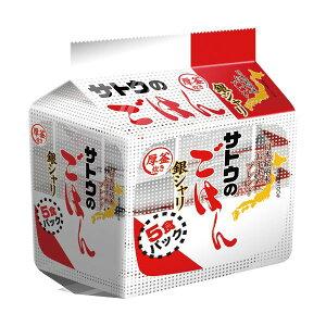 【送料無料】(まとめ)サトウのごはん (40食:5食×8パック)銀シャリ200g