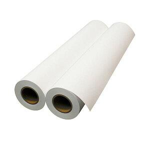 【送料無料】エプソン 普通紙ロール(薄手)24インチロール 610mm×50m 2インチ紙管 EPPP6424 1箱(2本)