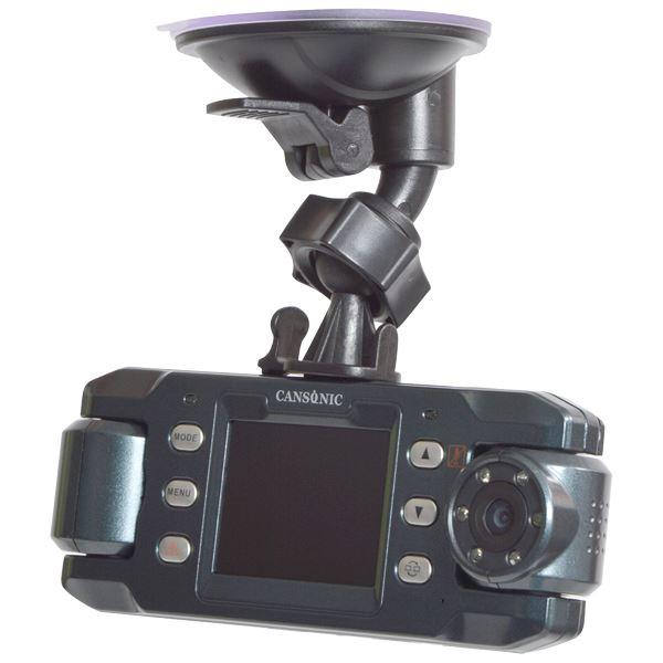 【送料無料】サンコー 前後赤外線LED付きデュアルレンズドライブレコーダーGPS2