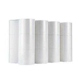 【送料無料】(まとめ)TANOSEE トイレットペーパーシングル 芯なし 250m 1ケース(24ロール:6ロール×4パック)【×2セット】