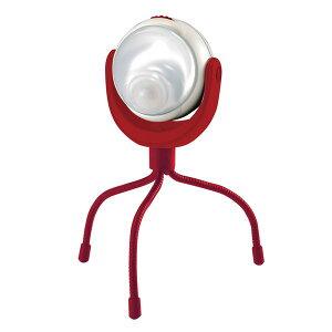 【送料無料】どこでもランタン/センサーライト 【電球:1W高輝度白色LED】 3脚付き 電池式 屋内用 〔防犯対策用品 防災対策用品〕