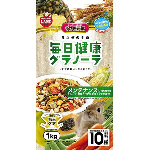 【送料無料】(まとめ)毎日健康グラノーラ メンテナンス 1.0kg(ペット用品)【×6セット】