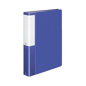 【送料無料】(まとめ) コクヨ クリヤーブック(クリアブック)(POSITY) 固定式 A4タテ 80ポケット 背幅46mm ブルー P3ラ-L80NB 1冊 【×10セット】