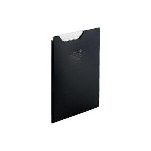 【送料無料】(まとめ)LIHITLAB クリップファイルA5 黒 F-5065-24【×10セット】