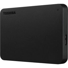 【送料無料】東芝 ポータブルハードディスク 500GB ブラック HDTB405FK3AA-D