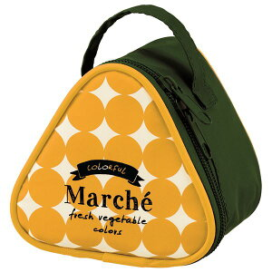 【送料無料】(まとめ) おにぎり型 ランチバッグ/お弁当袋 【かぼちゃ】 保冷・保温効果 『マルシェ』 【120個セット】