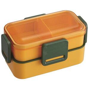 【送料無料】(まとめ) ふわっと弁当箱/ランチボックス 【2段 かぼちゃ】 600ml 電子レンジ 食洗機可 『マルシェ』 【32個セット】