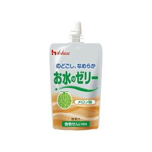 【送料無料】ハウス お水のゼリー メロン味(40袋入)