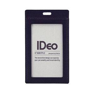 【送料無料】(まとめ)コクヨ ネームカードケース(IDeoHUBSTYLE)革製 名刺・IDカード用 タテ型 紺 NM-CK196DB 1枚【×5セット】