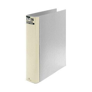 【送料無料】(まとめ) マルマン ダブロックファイル B5タテ 26穴 250枚収容 背幅44mm グレー F679R-11 1冊 【×10セット】
