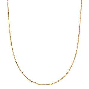 【送料無料】造幣局検定刻印入り 純金 k24 喜平ネックレス45cm【代引不可】