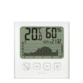 【送料無料】タニタ グラフ付きデジタル温湿度計 TT-581