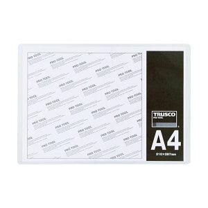 【送料無料】(まとめ)TRUSCO 厚口カードケース A4THCCH-A4 1枚 【×30セット】