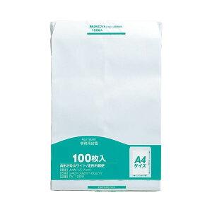 【送料無料】(まとめ)マルアイ 事務用封筒 PK-128W 角2 白 100枚【×5セット】