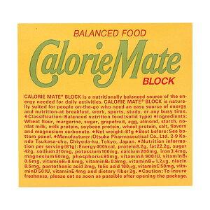 【送料無料】(まとめ)大塚製薬 カロリーメイトブロック フルーツ味 『1セット(10箱/1箱4本入り/1本20g)』【×2セット】