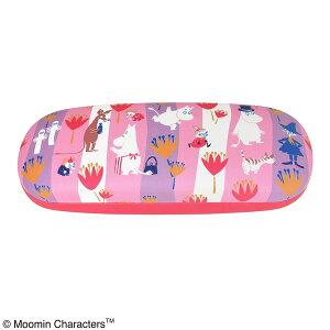 【送料無料】ムーミン メガネケース STRIPE ピンク 【2個セット】