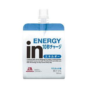 【送料無料】(まとめ)森永製菓 inゼリー エネルギー 180g 1パック(6袋)【×3セット】