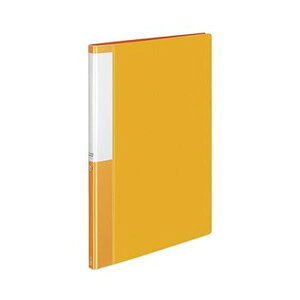 【送料無料】(まとめ)コクヨ クリヤーブック(POSITY)固定式 A4タテ 20ポケット 背幅15mm オレンジ P3ラ-L20NYR 1セット(10冊)【×5セット】