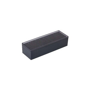 【送料無料】(まとめ) キングジム 名刺整理箱 約1000枚収納黒 75 1個 【×10セット】