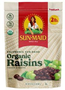 サンメイド オーガニックレーズン Sun Maid Organic Raisins, 64 Ounce 干しブドウ