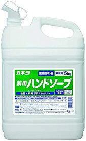 カネヨ石鹸 薬用ハンドソープ 液体 業務用 5kg ソープ 液体 石鹸 衛生 防菌