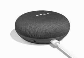 ◆Google NEST MINI チャコール◆ グーグル ネストミニ 旧ホームミニ本体 Google アシスタント 小型スマートスピーカー bluetooth Wi-Fi 音声 認識 ハンズフリー ダークグレー 人工知能AI IOT Android iOS home mini