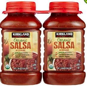 【送料無料】KIRKLAND カークランド オーガニック サルサソース 1.08kg ×2個