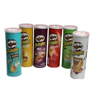 プリングルス 6種 アソートボックス Pringles ポテトチップス ( オリジナル ピザ バーベキュー ランチ ハニーマスタード サワークリーム&オニオン )スナック お菓子