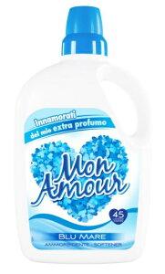 MON AMOUR ファブリックソフナー 3000ml ブルーシーフレッシュネスの香り長時間 持続 衣料用 柔軟剤 仕上剤 大容量 コストコ