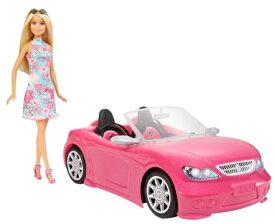 バービーとおでかけ! かわいいピンクのクルマ Barbie 人形 おもちゃ プレゼント 誕生日 バービー おしゃれ 贈り物