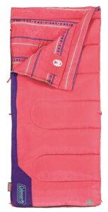 コールマン 子供用寝袋 快適使用温度10℃ ピンク コストコ 寝袋 子供用 キャンプ Coleman Youth Sleeping Bag 50