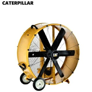 CAT 42インチ ドラムエア サーキュレーター 工場扇 6枚羽 50/60Hz AC100V CATERPILLAR 大型サーキュレーター 扇風機 業務用 大型扇風機