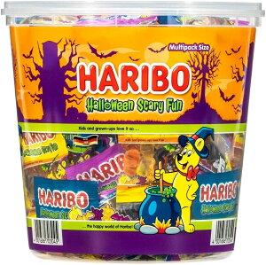 HARIBO ハリボー ハロウィーン パーティー ドラム 980g 大容量 ハロウィン お菓子 グミ