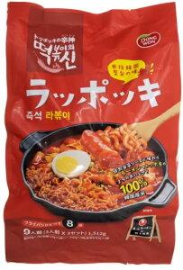 東遠ラッポッキ504g x 3袋 DONGWON RAPPOGI 本場韓国屋台の味 手軽 簡単 ラーメン トッポギ インスタント非常食 常温保存