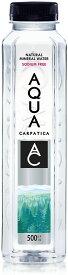 AQUA CARPATICA アクア カルパチカ ナチュラルミネラルウォーター 500ml×12本 天然水 中硬水 ルーマニア産 ペットボトル アクア カルパティカ