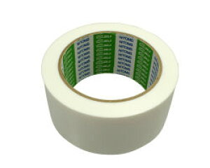 KZ23 床養生テープ 50ミリX25M 白(0.17ミリ厚) 03865155-001