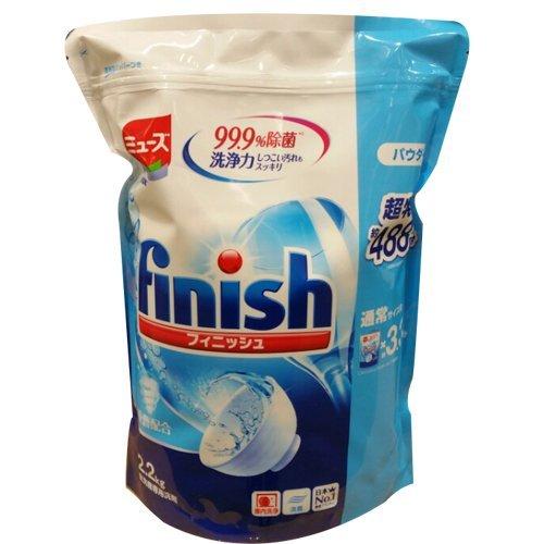【送料無料】フィニッシュ 食洗機用洗剤 パウダー 2.2kg ミューズ共同開発 ビッグパック【593368】