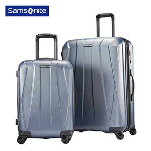 SAMSONITE ポリカーボネート ハードスーツケース 大小 2個セット 21インチ 28インチ TSAロック付 ハードケース サムソナイト お得 二点 BANTAM XLT 2Piece キャリーバッグ カラー:シルバー