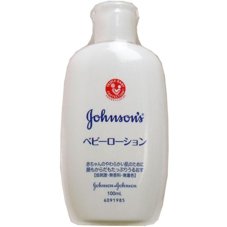 ジョンソン ベビーローション 無香料 100mL 単品1個【4901730140980】