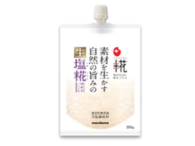 マルコメ プラス糀 生塩糀 200g x8 1【4902713125932】【4902713125932】