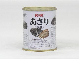 K&K あさり水煮 F7号缶 x6 1【4901592030887】【4901592030887】