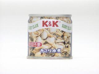 K&K あさり水煮 EO SS2号缶 x6 1【49697247】