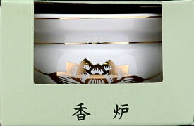 【送料無料】香炉陶器 1個【 日本香堂 】 【 数珠 】日用品 薫香剤数珠
