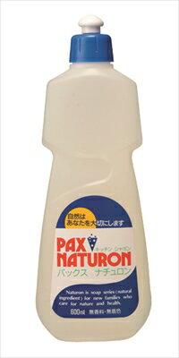 【送料無料】パックスナチュロンキッチンシャボン 600ML【 太陽油脂 】 【 食器用洗剤・自然派 】日用品 台所洗剤天然系・自然派