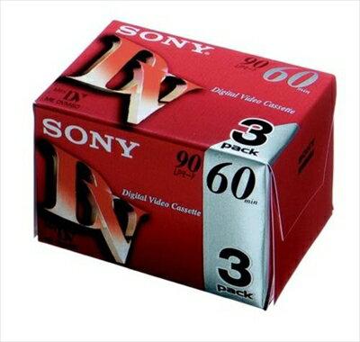 【送料無料】ミニDVカセット60分3P 3DVM60R3 【 ソニー 】 【 ビデオ・MD・CD 】日用品 軽電化ビデオ・MD・CD